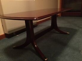 Rectangle stag coffee table