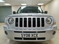 Jeep Patriot 2.0 CRD Limited Silver 4x4 Leather DIESEL WARRANTY 12 MONTH MOT FSH
