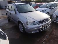 Vauxhall/Opel Astra 1.6i 2002MY Club