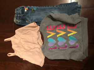 Size 2-3 Toddler Girl Jeans Sweater