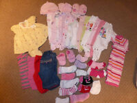 0-3 Months Girls Baby Clothes