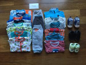 Lot de vêtements pour garçon