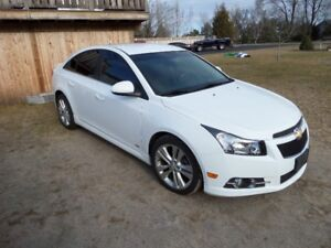 2011 CHEV CRUZE RS -ONLY 96,000 KM  $8395. CERT/WARR