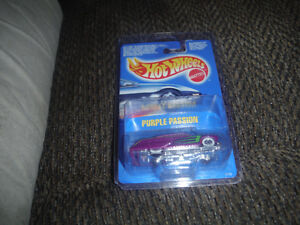 Hot Wheels carded Purple Passion 2173 bww 1990 London Ontario image 1
