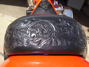 Hand Made Custom Motorcycle Seats & Accessories...