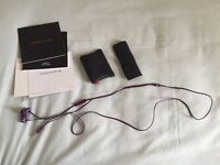 Limited Edition Purple In Ear Dr Dre Beats