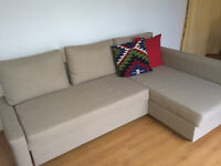 IKEA Sofa Bed & Bookcase