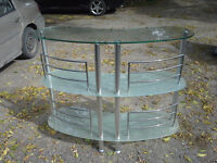 Glass Bar or Stand