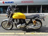 2017 17 Plate Honda CB1100 CAH in stunning Yellow 4469 miles