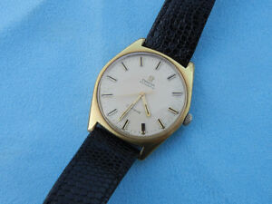 Beautiful Vintage 1950-60's Omega Geneve Automatic Gold Watch