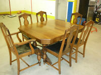 Antique Dining Set (table, buffet,and china cabinet)