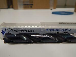 Sumitomo MDW1040HGS5 10.4mm 5XD drill