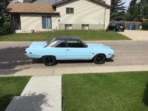 74 Dart Swinger STRONG 318 with NEW TRANSMISSION and 8.75