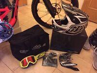 Troy lee designs d3 helmet. Downhill. Mtb mountain bike