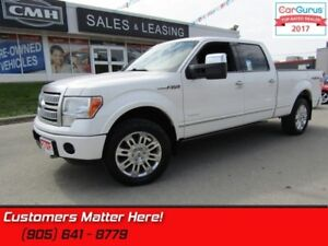 2012 Ford F-150 Platinum  4x4, LEATHER, NAV, SUNROOF, REAR CAMER
