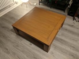 Wayfair coffee table 90cm X 90cm X 31cm