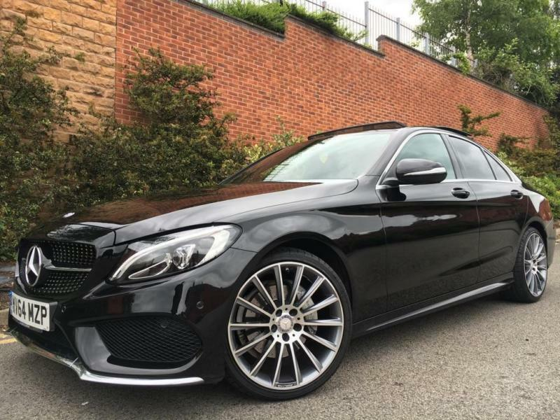 2014 mercedes benz c class 2 1 c220 cdi bluetec amg line saloon 4dr diesel in new basford. Black Bedroom Furniture Sets. Home Design Ideas