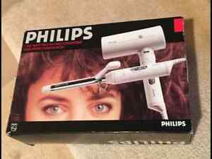 Brand New Philips 1200 Watt 2 in 1 Hairdryer & Curling Iron