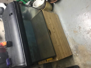 40 gallon fish tank comes with filter and heater