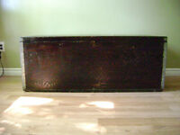 Rare Antique Trunk & Dresser