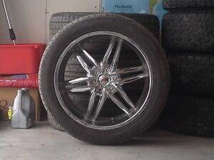 Chrome 22'' Rims