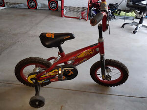 Boys Bike with Training wheels