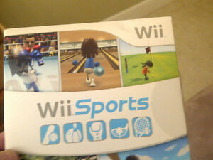 Nintendo Wii  Sports /Mario Party game console