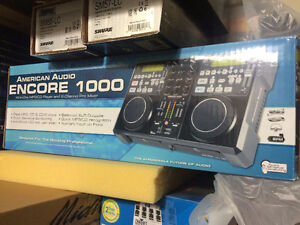 Like new Encore 1000 by American Audio DJ player mixer