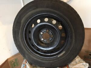 Winter tires and wheels 195/65R15