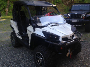 CanAm Commander 1000 Limited Edition with EXTRAS