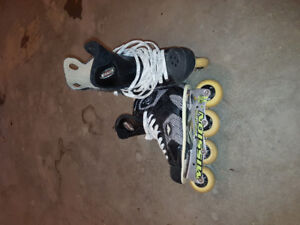 Roller Blades-almost NEW