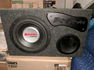 Boston G2 - Subwoofer - 10 Inch - 600 Watts - Box - New