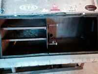 Long box welding skid