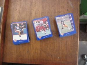 1991 JOGO CFL football cards complete set