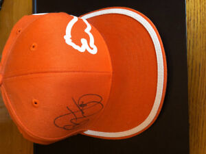 Autographed Rickie Fowler puma hat