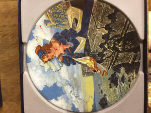 China Plate The Franklin's Tale Collector's  The Canterbury