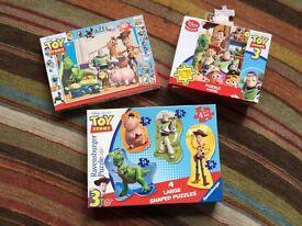 Disney Toy Story jigsaw puzzle bundle