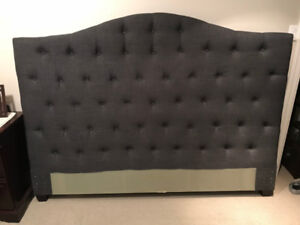 King box spring and headboard