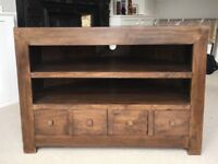 Solid wood TV stand / TV cabinet
