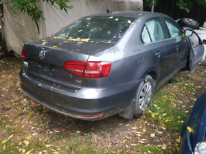 Parting out 2015 jetta 1.8t