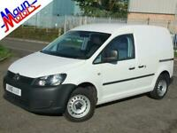 2015 Volkswagen Caddy C20 TDI 102PS, Small VW Panel Van, Air Con, Cruise, MP3