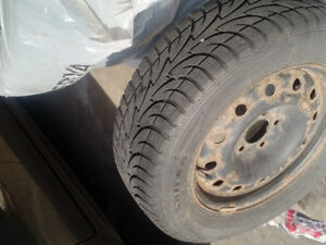 Winter Tires and rims for Sale 225/60R16