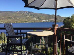 Mont Tremblant Summer Rental Lake and Mountain View