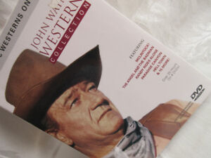 collectible 4 dvd John Wayne Western Collection 20 hrs sealed