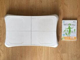 Wii Fit Plus and balance board for Nintendo Wii