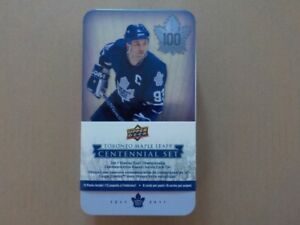 Upper Deck Toronto Maple Leafs Centennial Set (100 cards)