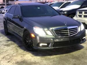 2011 Mercedes-Benz E 550 4MATIC, FINANCEMENT MAISON