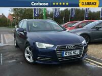 2016 Audi A4 Avant 2.0 TDI Ultra Sport 5dr Avant ESTATE Diesel Manual