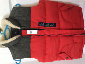 NEW GapKids Boy Vest 6-7 Years
