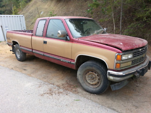 1991 Chevy 2500 longbox parts truck